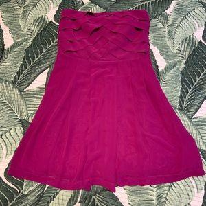 Chiffon tube dress